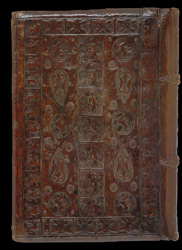 'Romanesque' Blind-Stamped Binding, On Peter Comestor's 'Historia Evangelica' And Other Works